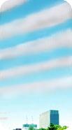 波状の地震雲