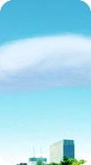 固まり状の地震雲